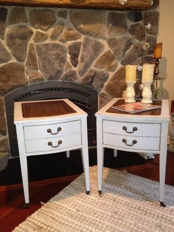 Pair of Vintage Side Tables... great price