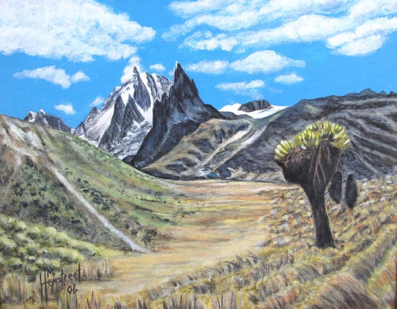 Mount Kenya Africa