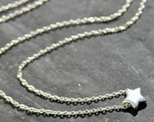 Tiny Star, Sterling Silver Necklace