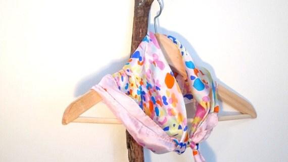 Spring Bloom Silk Scarf