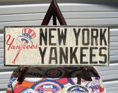 New York Yankees wall sign