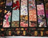 Oriental Fabric Quilt