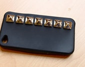 Black Studded IPhone 4 Case