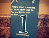 Creative Table Number Books - Guestbook - Must see