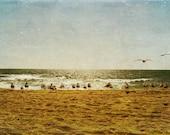 Ocean and birds, Fine art photography 10x5