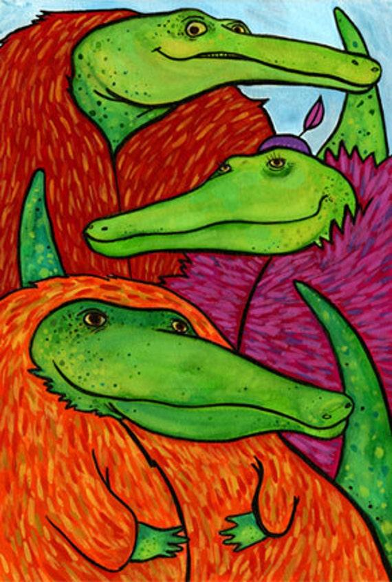 Day 58 - Crocodiles in Fur