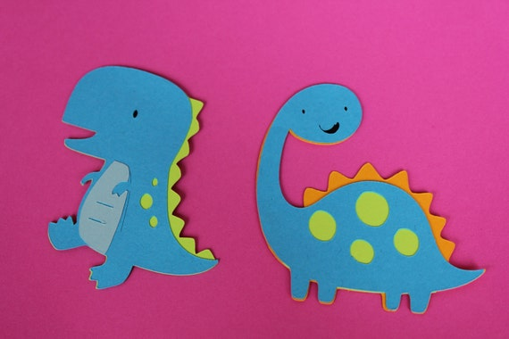 RESERVED listing for Katherin 8 dinosaur & volcano Cricut die cuts
