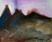 """Art print, Landscape No1 - 5"""" x 7"""" Open edition giclee print (Series of details, studies and sketchbook work)"""