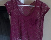 Vintage Lace Blouse Urban Outfitters
