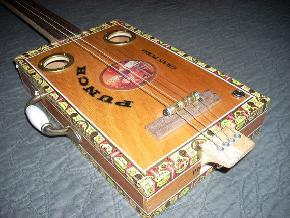 Punch Gran Puro 4string Cigar Box Guitar