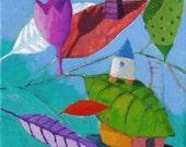 Print - Part of an imaginary landscape2