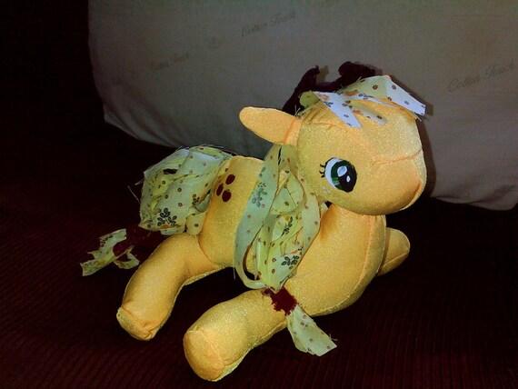 Applejack rag doll
