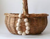 18 mm Natural wooden beads 10 pcs - eco friendly r18mm