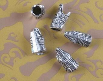 20pcs Tibetan silver animal spacer bead h5086