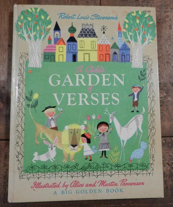 A Child's Garden of Verses, 1951, A Big Golden Book