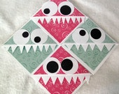 4 Corner Bookmarks (Hungry Monsters)