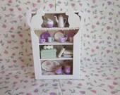 Dollhouse Shabby Chic Cat Dresser