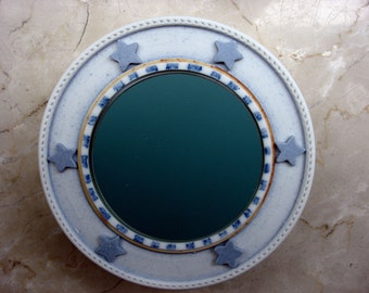 Porcelain mirror