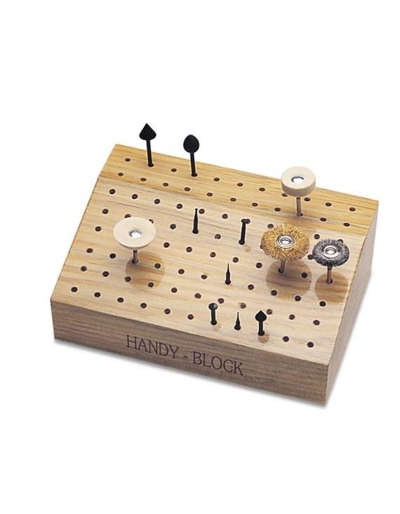 Slanted Handy Block Bur Organizer 88 holes