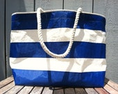 L33 Recycled Sail Overnighter Tote