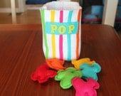 Felt Rainbow Popcorn Bag Set