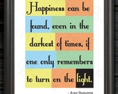 Albus Dumbledore Inspired Wall Art PDF