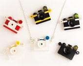 SALE -Lego camera necklace -