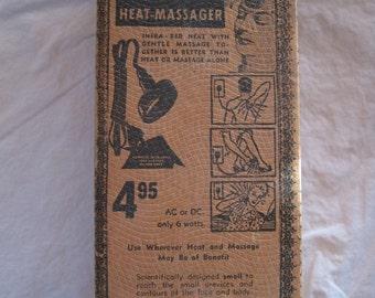 Original 40's Heat Massager in Box