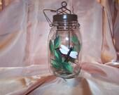 Mason Jar Lantern Tea Light Holder