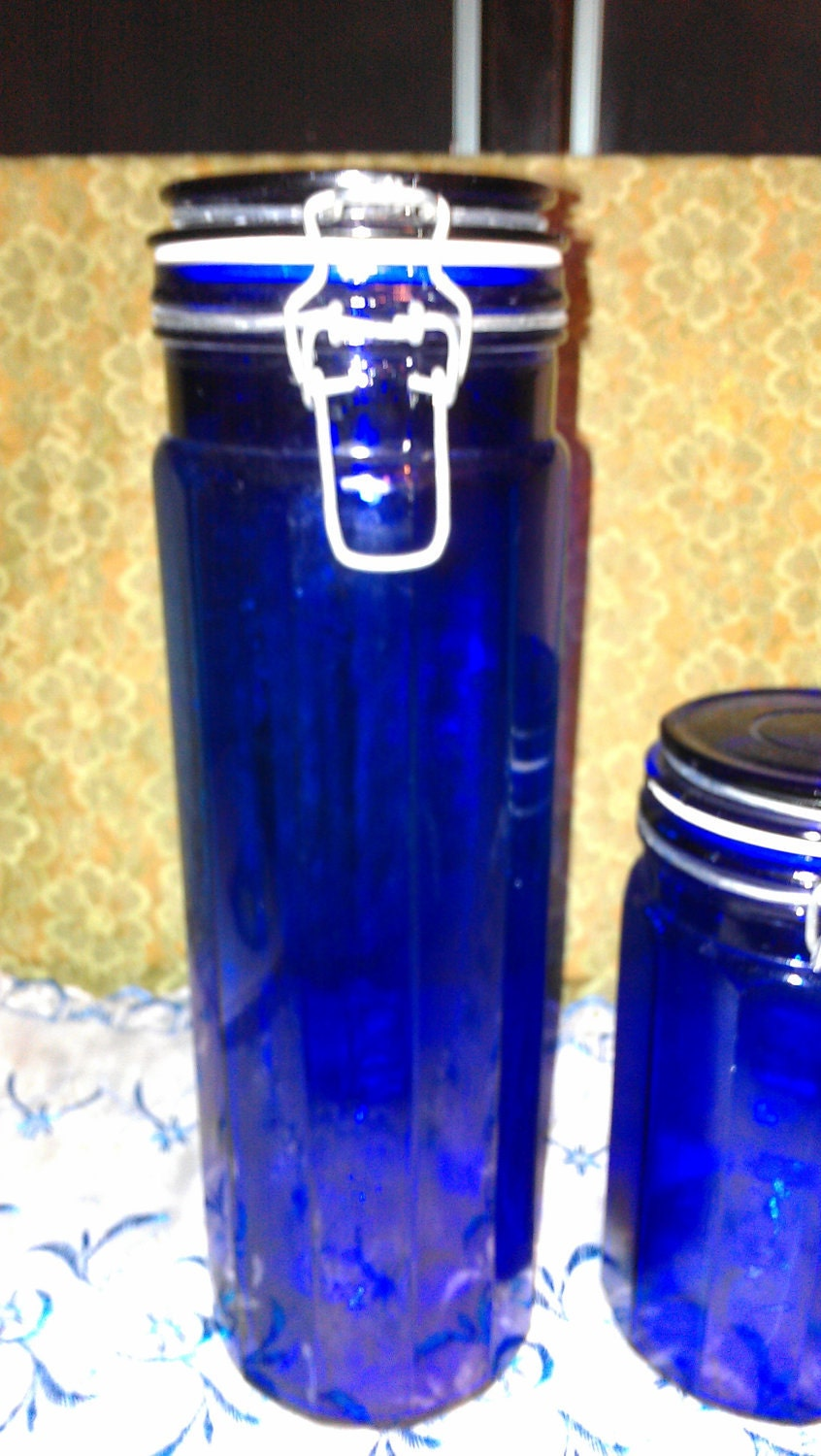 cobalt blue kitchen canisters cobalt blue kitchen canisters 6352