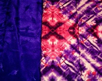 Pink And Purple Tie Dye Splatter Print Blanket  Originally 29.99  **NOW 15% OFF**