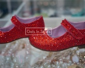 Custom Your Own Strassing Crystal Girls Shoes.