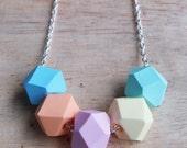 Candy Geo Pop necklace