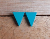 Triangle Studs - Blueheaven
