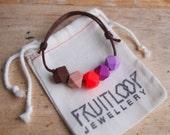 Autumn Purple adjustable bracelet