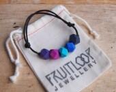 Purple Rain adjustable bracelet