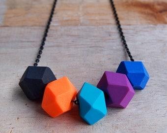 Electric Dreams Geo Pop necklace