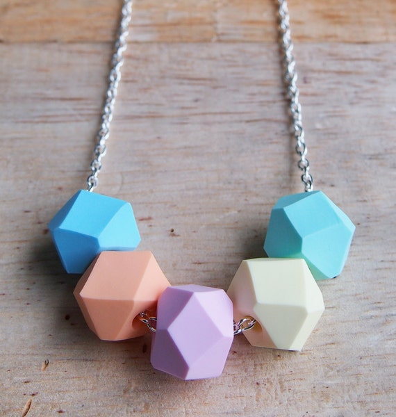 Candy Geo Pop necklace