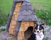 Beautiful handmade dog house