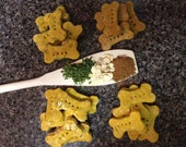 Healthy Homemade Dog Biscuits: Variety Bag (Plain, Cinnamon, Parsley, Oat)