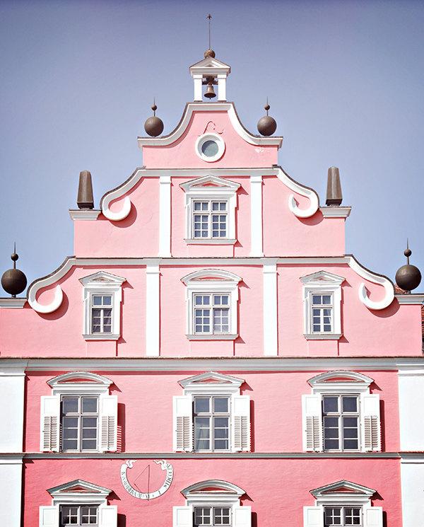 pastel pink 8x10 art photo travel germany baroque