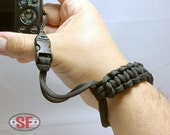Paracord Survival P&S Camera Wrist Strap Cobra Weave