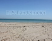 8x10 photo of a sandy beach in Kenosha, Wisconsin