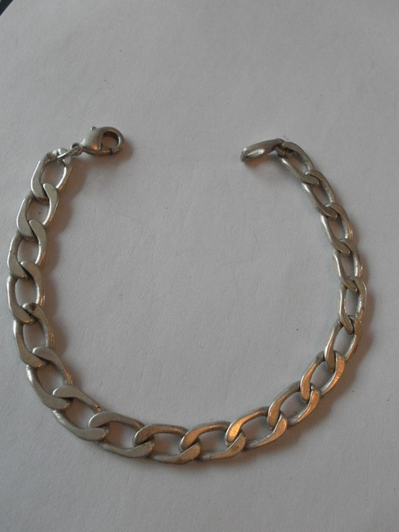 stainless steel unisex link bracelet good quality