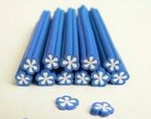 Polymer Clay Flower Fimo Cane (1 Piece ) ( 014 )