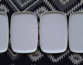 Lucky you. Set of 4 Vintage Bauhaus plates. Some Mom's are more mod than others.
