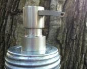 DIY Mason Jar soap dispenser LID