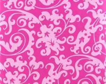 Scroll in Pink - Brother Sister Design Studio