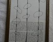 pods framed original drawing