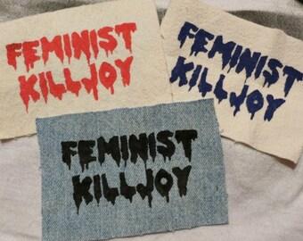 Feminist Killjoy Patches